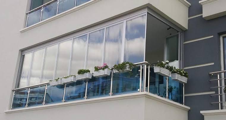 ısıcamlı katlanır cam balkon